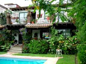 bed and breakfast, cuernavaca, bungalow
